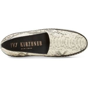 IVY KIRZHNER Leather Flats NEW Size 8.5